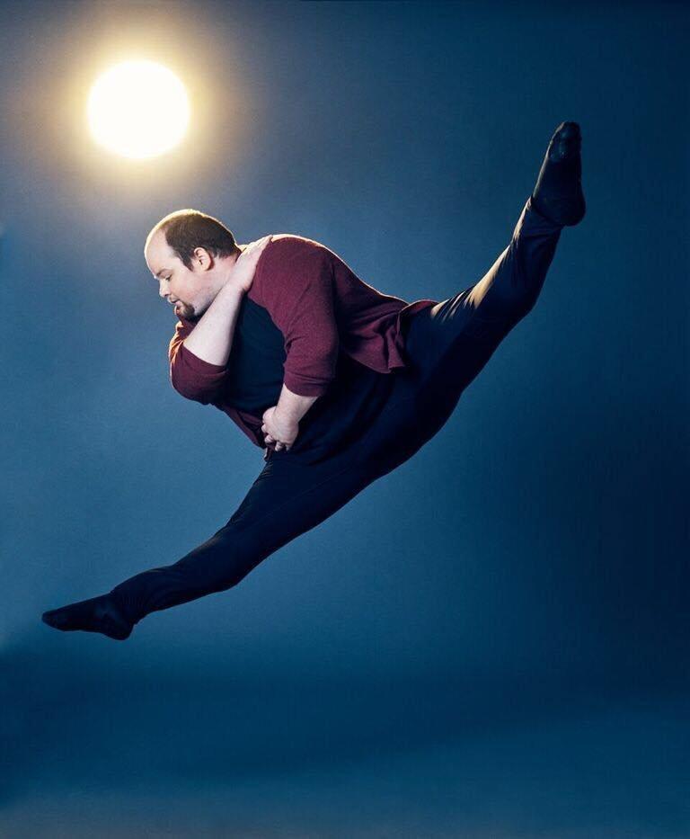 Erik Cavanaugh ist übergewichtig – so hat er es zum Profitänzer