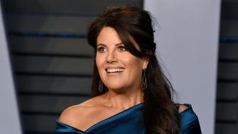 BEVERLY HILLS, CA - MARCH 04:  Monica Lewinsky attends the 2018 Vanity Fair Oscar Party Hosted By Radhika Jones - Arrivals at Wallis Annenberg Center for the Performing Arts on March 4, 2018 in Beverly Hills, California.  (Photo by Presley Ann/Patrick McMullan via Getty Images)