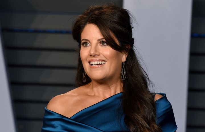 Monica Lewinsky attends the 2018 Vanity Fair Oscar Party on March 4 in Beverly Hills, California. She spoke about cyberbullyi