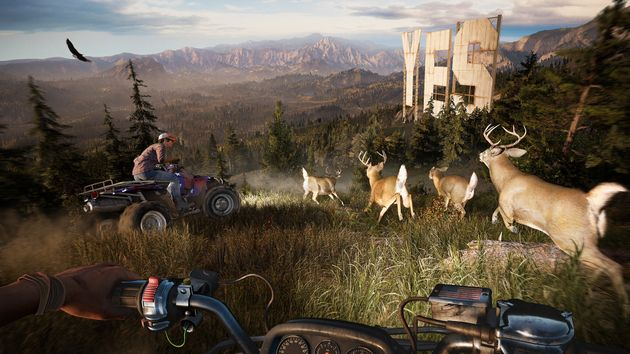 Putting down a weapon and actually exploring Far Cry 5 is worth doing, the game is utterly