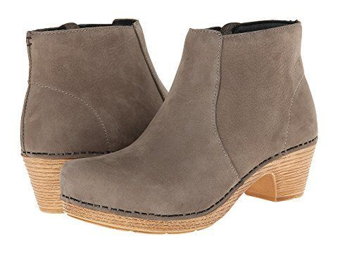"Get it at <a href=""https://www.zappos.com/p/dansko-maria-taupe-milled-nubuck/product/8480839/color/501428"" target=""_blank"">Za"