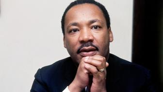 MARTIN LUTHER KING, JR. American Civil Rights Leader, Doctor of Philosophy from Harvard. November 1967. ©Photoshot / TopFoto / The Image Works *** Local Caption *** .