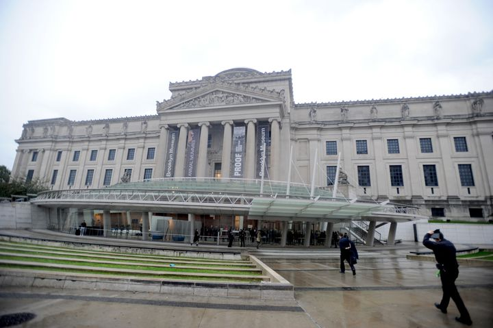 The Brooklyn Museum hired a white curator for its African art exhibits.
