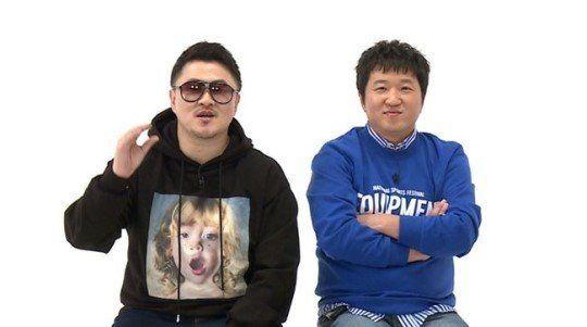 정형돈과 데프콘이 '주간아이돌' 시청자들에게 감사 인사를