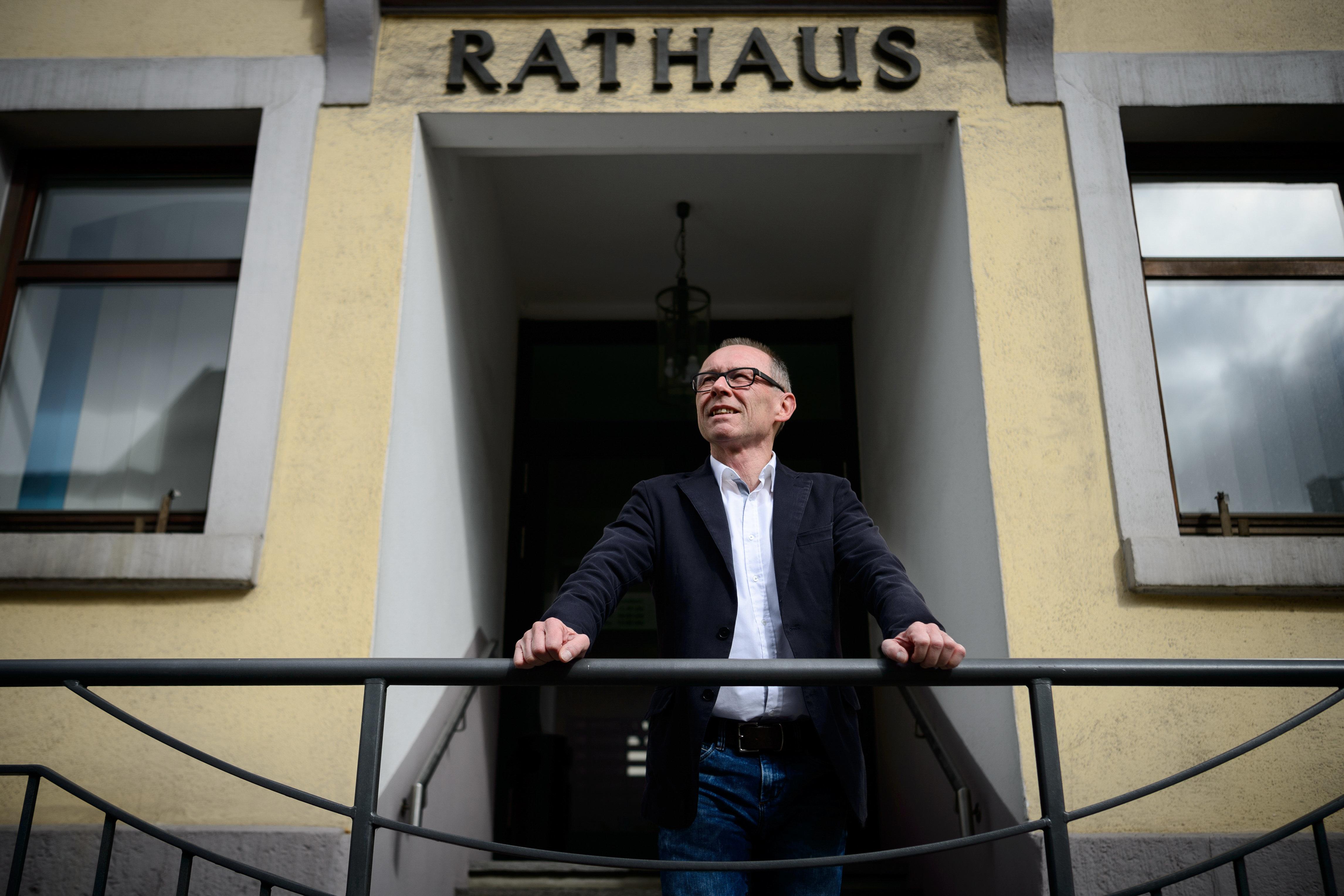 Harry Ebert ist der erste AfD-Bürgermeister Süddeutschlands – und er spaltet seine