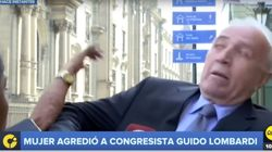 페루 의원이 생방송 도중 시민에게 따귀를
