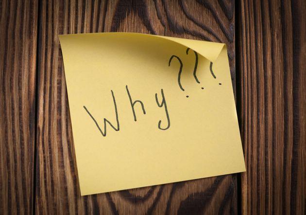 Γιατί το «γιατί;» είναι η πιο σημαντική ερώτηση που πρέπει να κάνουμε (και να προσπαθούμε να