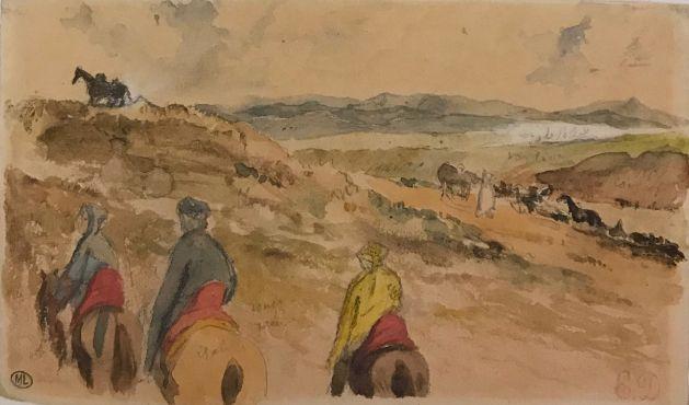 Le voyage de Delacroix au Maroc exposé au