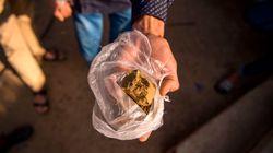 Près de 34 tonnes de résine de cannabis saisies en 2017 par la douane marocaine