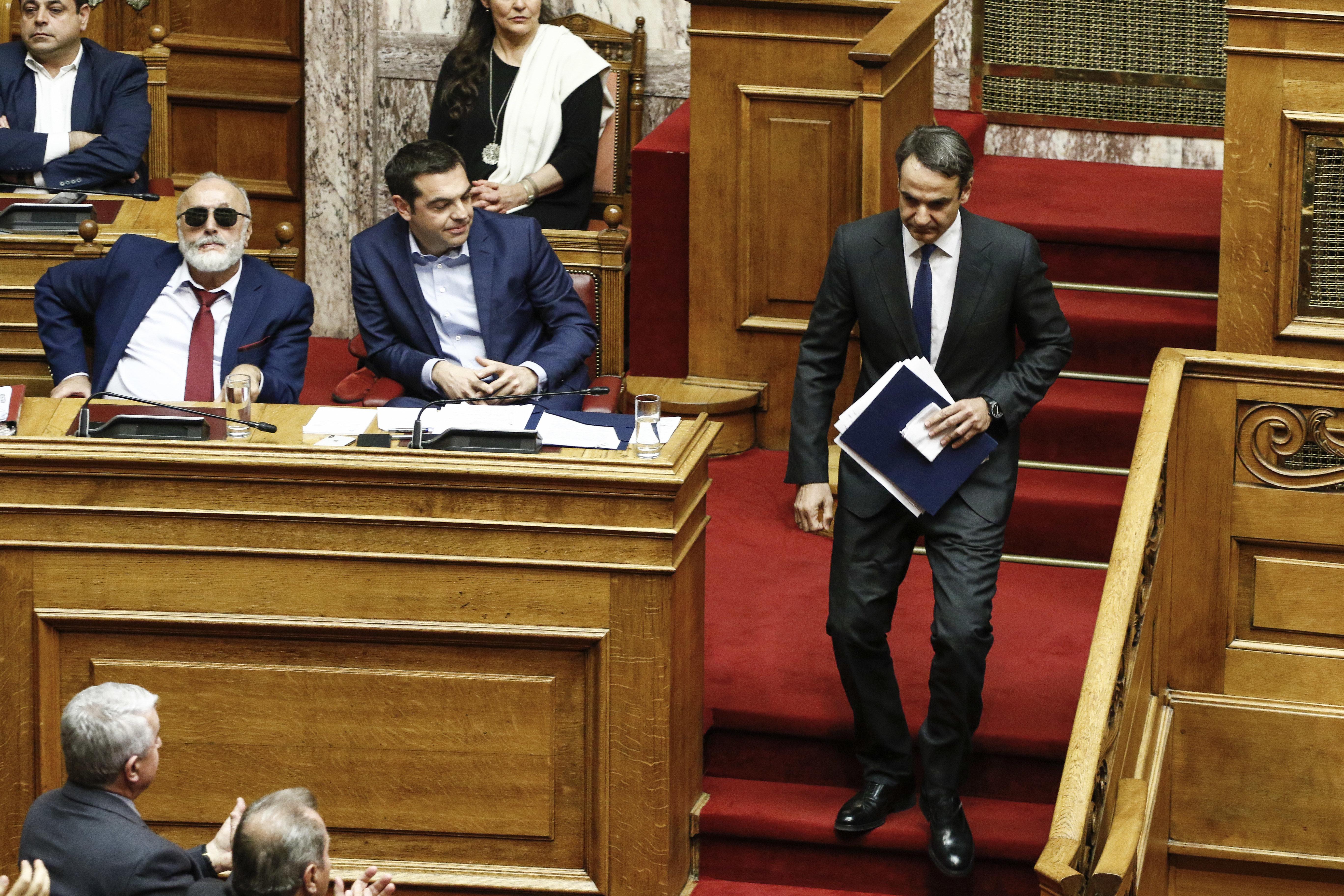ΣΥΡΙΖΑ: Ο πρόεδρος της ΝΔ φοβάται την αλλαγή σε προοδευτική κατεύθυνση του καταστατικού χάρτη της