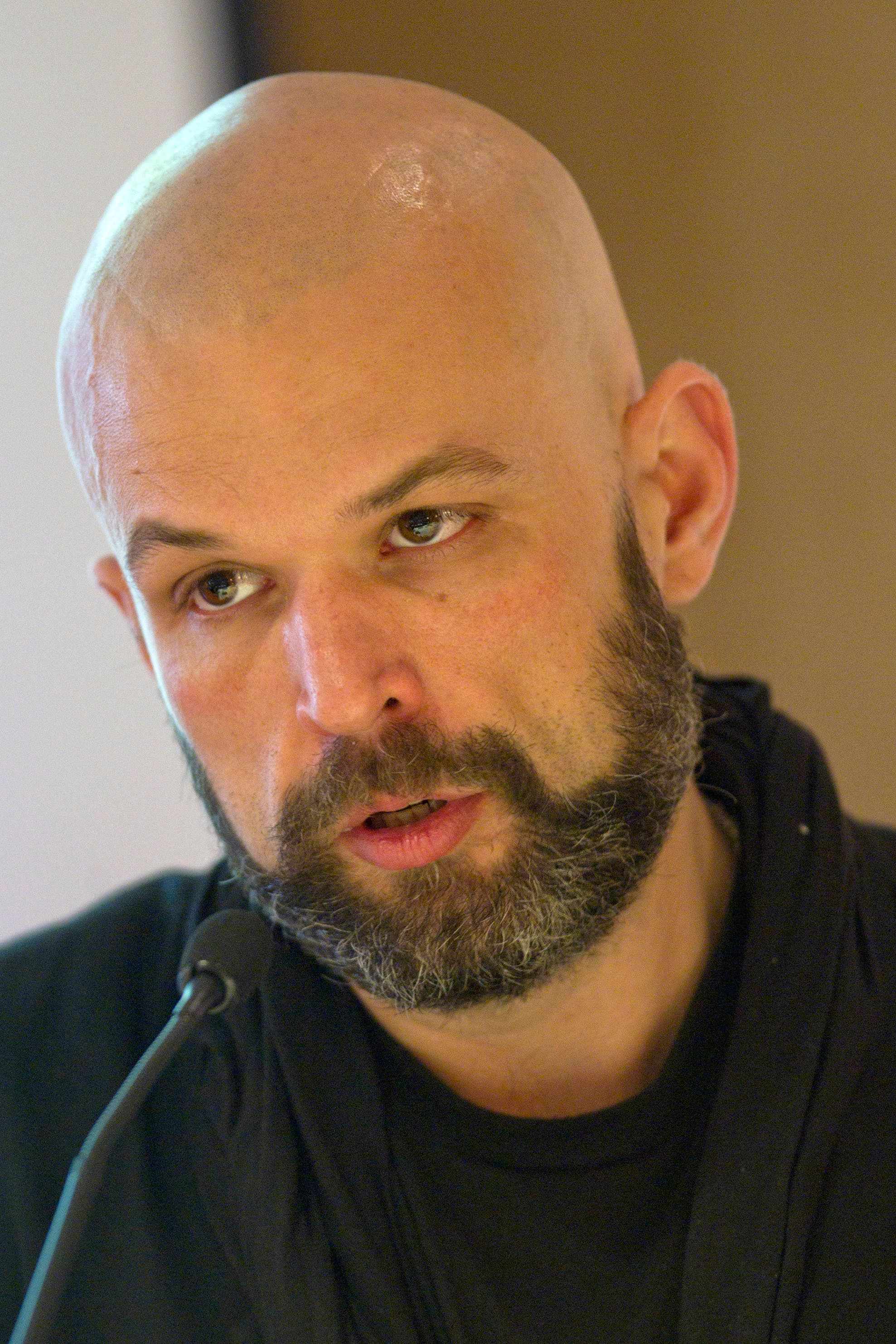 The Atlantic's Kevin D. Williamson, formerly of National Review, pictured here in 2010.