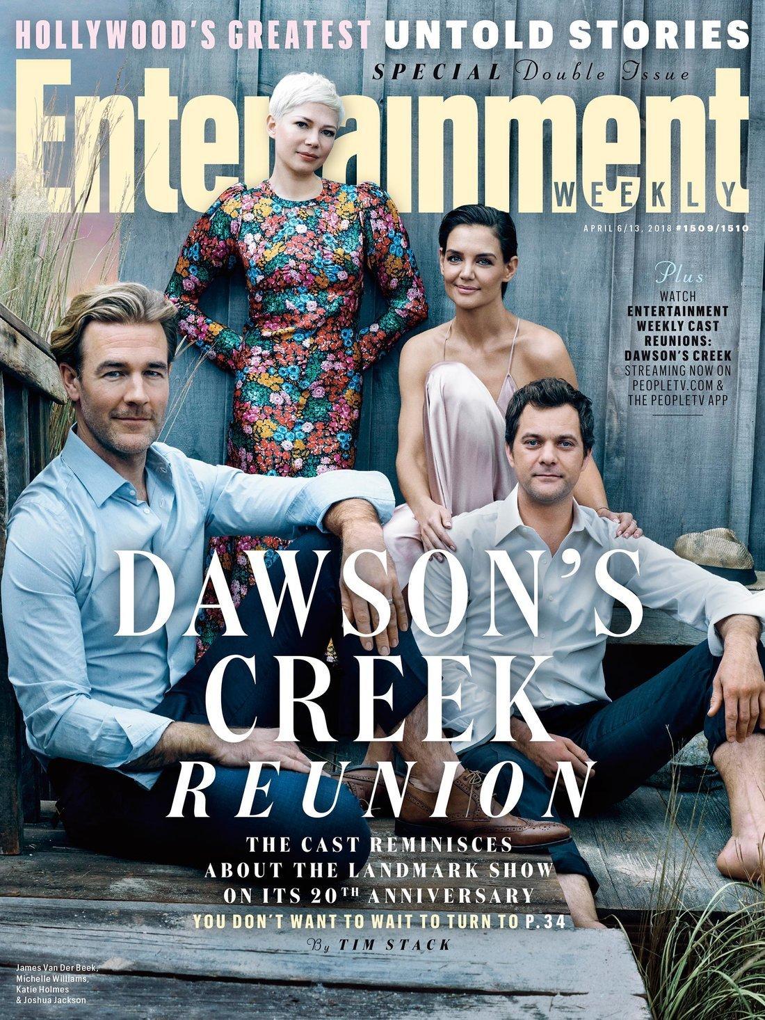 """""""Dawson"""" : les acteurs réunis 20 ans après"""
