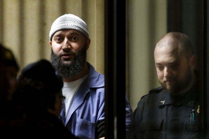 Adnan Syed leaves the Baltimore City Circuit Courthouse in Baltimore, Maryland, onFeb. 5, 2016.