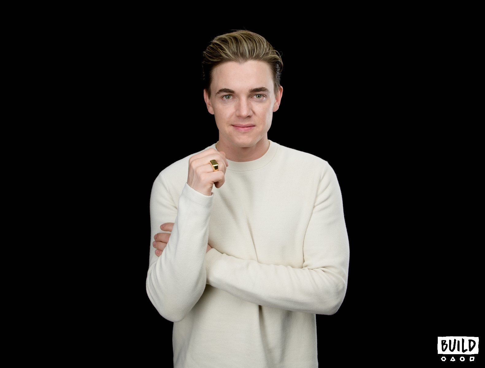 Jesse McCartney visits Build Series NYC on March 28, 2018 in New York. Photos by Noam Galai