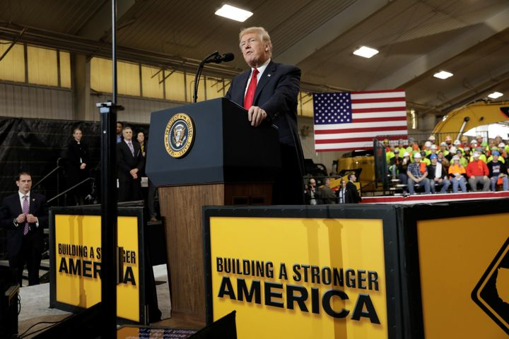 Hasil gambar untuk President Trump Delivers Remarks on the Infrastructure Initiative