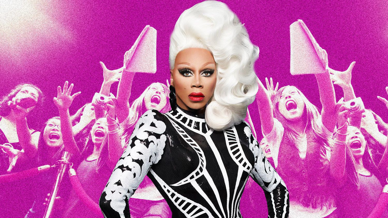 """RuPaul's Drag Race"" has amassed a large fan base of teenage girls."