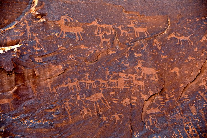 The Sand Island Petroglyph Panel was originally part of the Bears Ears National Monument, but President Donald Trump's procla