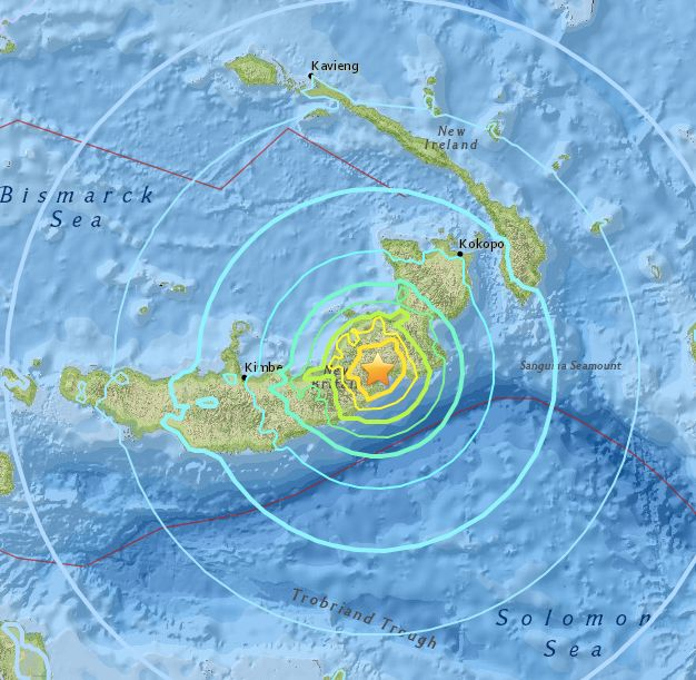 Papua New Guinea natural disaster: Ring of Fire rocked by magnitude 5 tremor