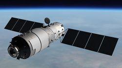 중국의 우주정거장 '톈궁1호'가 토요일 낮, 지구에