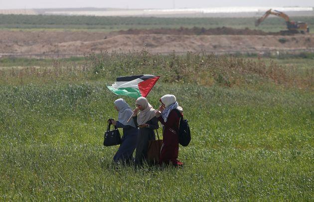 Νεκρός 27χρονος παλαιστίνιος γεωργός από ισραηλινή οβίδα λίγο πριν την έναρξη των κινητοποιήσεων διάρκειας...
