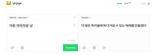최근 네이버가 출시한 번역 서비스