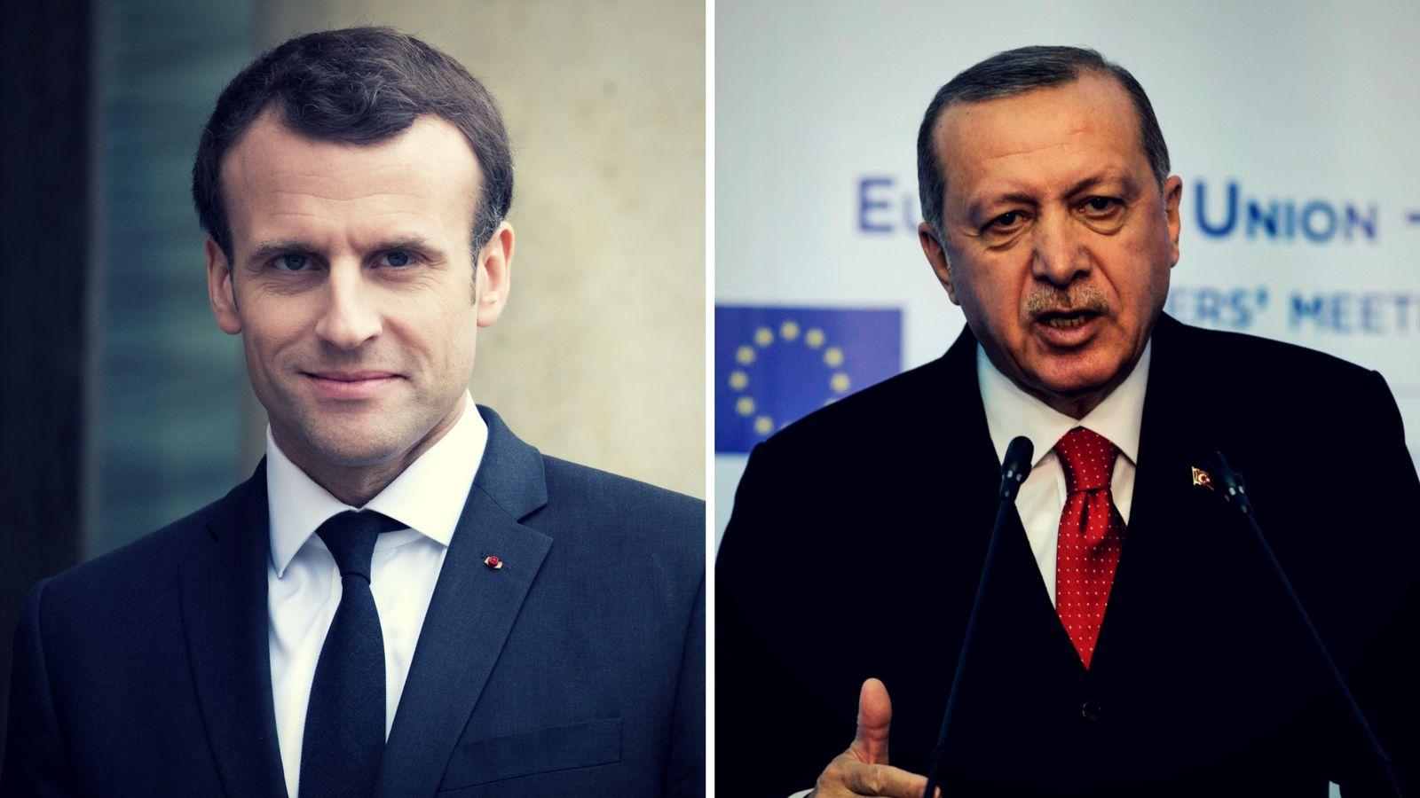 Macron will zwischen Kurden und Türkei vermitteln