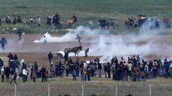 Gaza: affrontements entre Palestiniens et soldats israéliens près de la