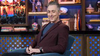WATCH WHAT HAPPENS LIVE WITH ANDY COHEN -- Pictured: Alan Cumming -- (Photo by: Charles Sykes/Bravo/NBCU Photo Bank via Getty Images)