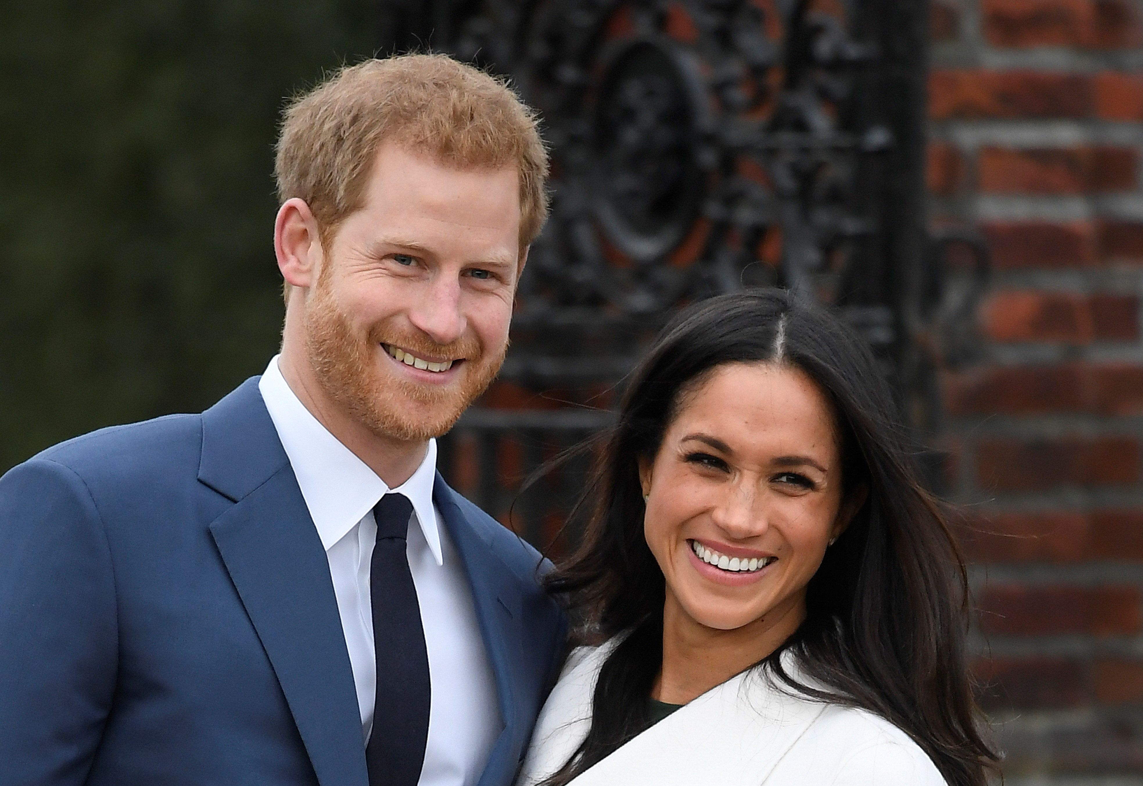 The wedding invitations for Prince Harry and Meghan Markleare made with gold American ink and printed on English paper.