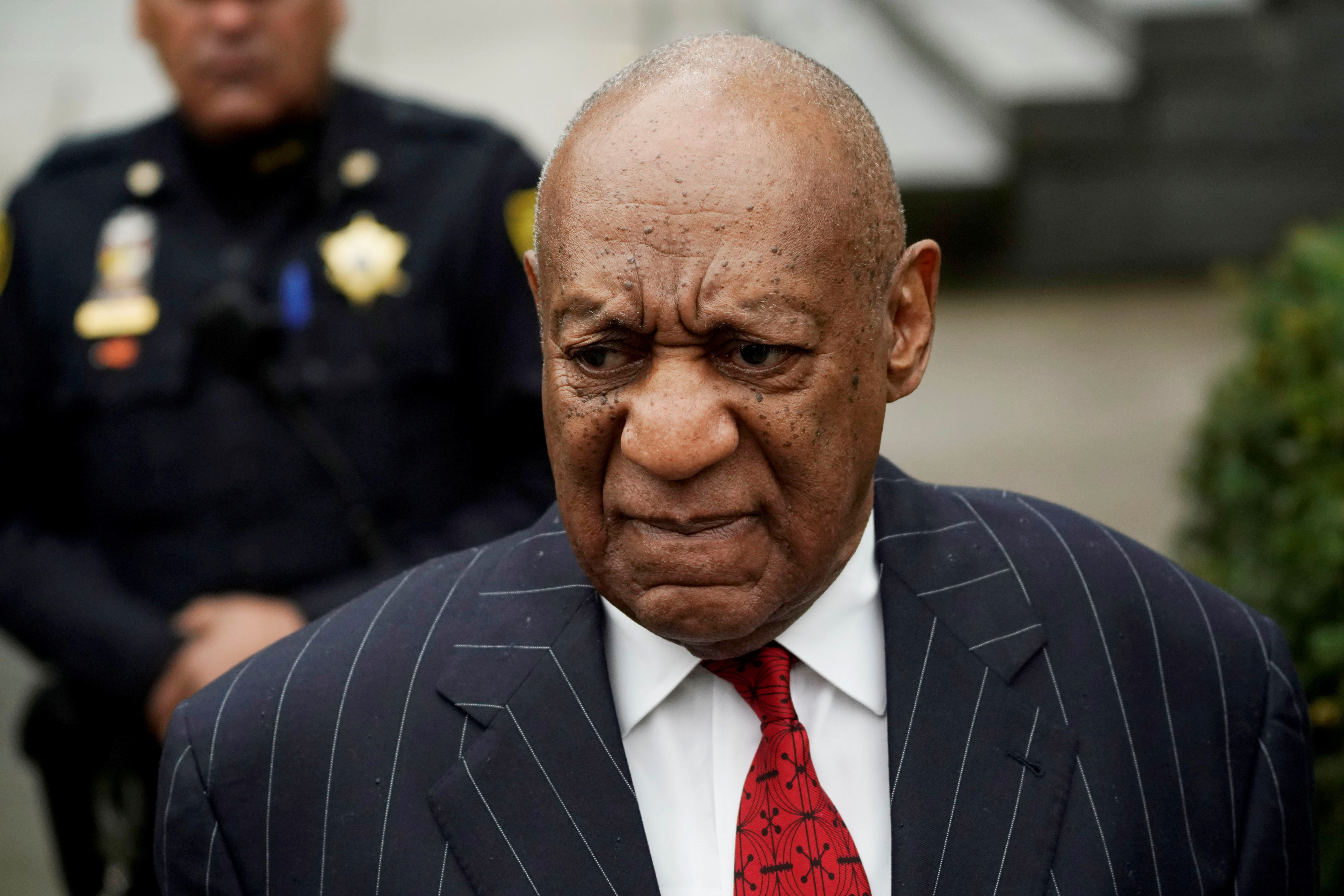 Actor and comedian Bill Cosby arrives for a pretrial hearing for his sexual assault trial at the Montgomery County Courthouse in Norristown, Pennsylvania,U.S., March 29, 2018.  REUTERS/Jessica Kourkounis     TPX IMAGES OF THE DAY       TO MATCH INSIGHT XXX
