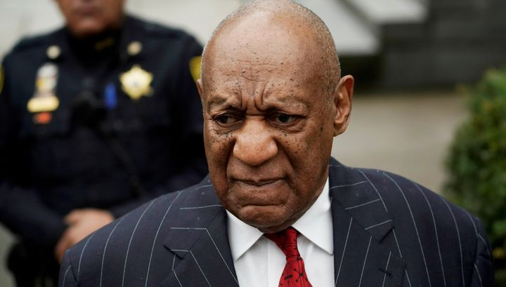 Bill Cosby arrives for a pretrial hearing for his sexual assault trial in Norristown, Pennsylvania, on March 29, 2018.
