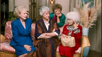 UNITED STATES - APRIL 29:  THE GOLDEN GIRLS - 9/24/85 - 9/24/92, BETTY WHITE, BEA ARTHUR,, RUE MCCLANAHAN, ESTELLE GETTY,  (Photo by ABC Photo Archives/ABC via Getty Images)