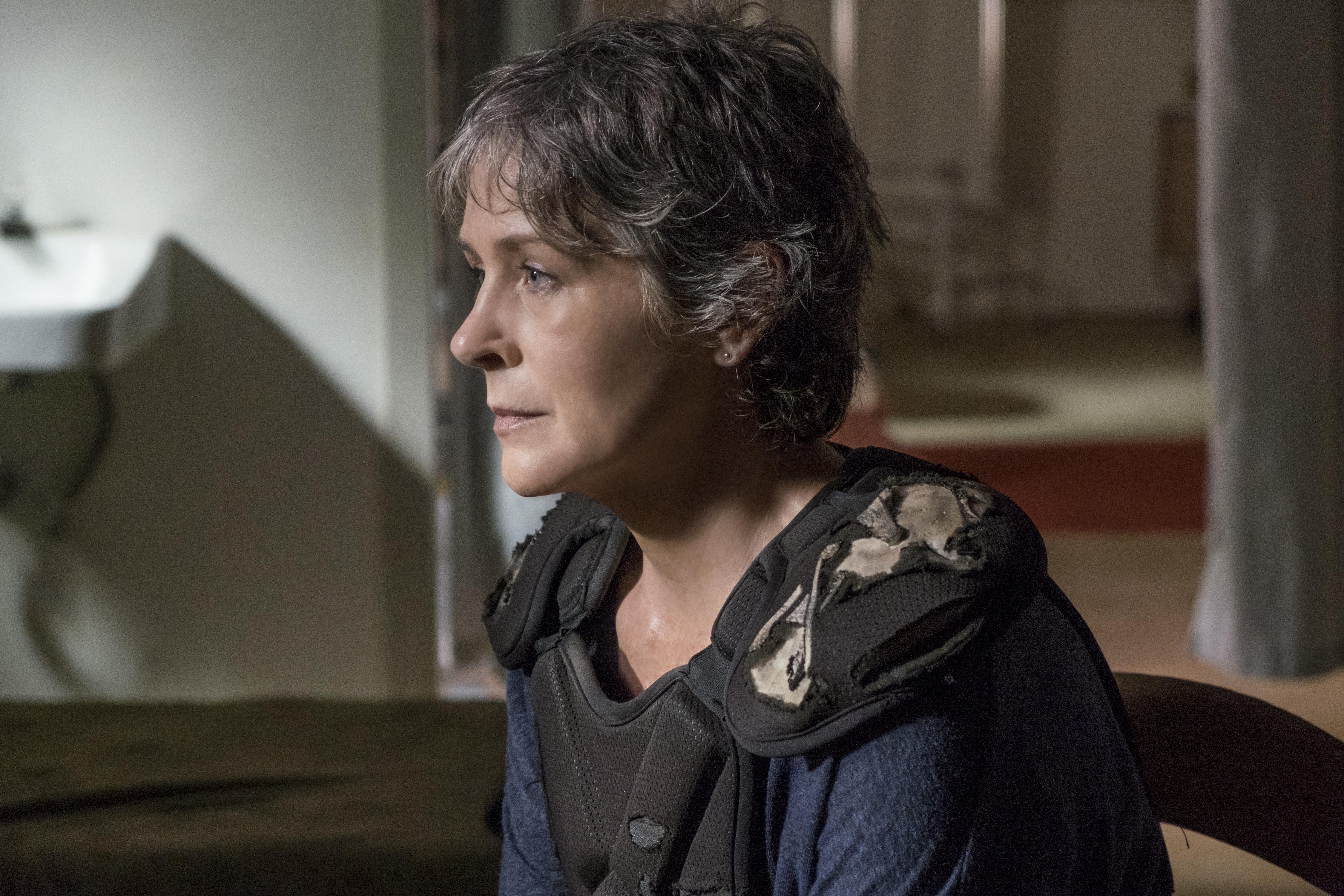 Melissa McBride as Carol Peletier - The Walking Dead _ Season 8, Episode 13 - Photo Credit: Gene Page/AMC