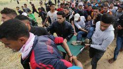 Ghaza: les Palestiniens poursuivront leur protestation après une première journée