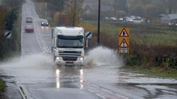 Met Office Issues Weather Warnings For Snow And Rain Over Washout Easter