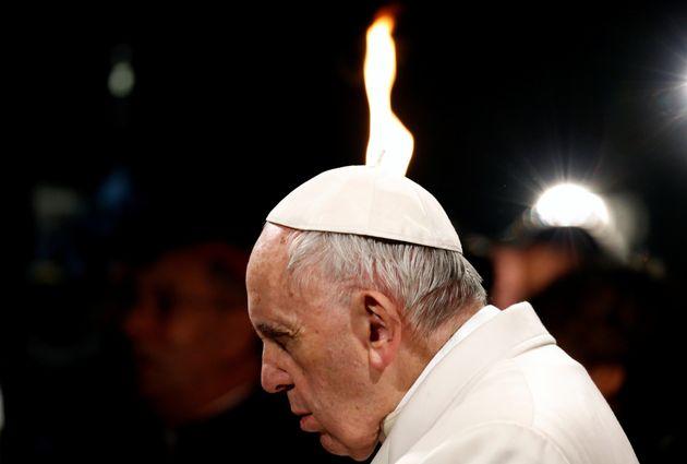 Papst Franziskus wird auch in der Osternacht eine flammende Predigt halten.