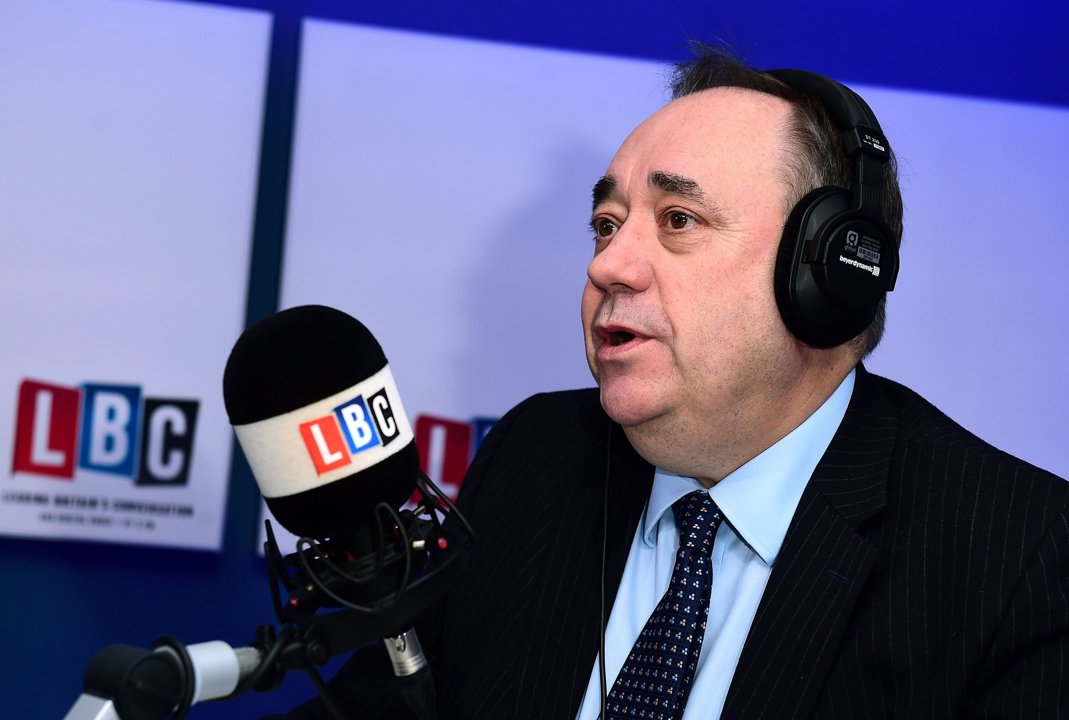 Alex Salmond's LBC Show Ends - But He Defies Calls To Stop Working With