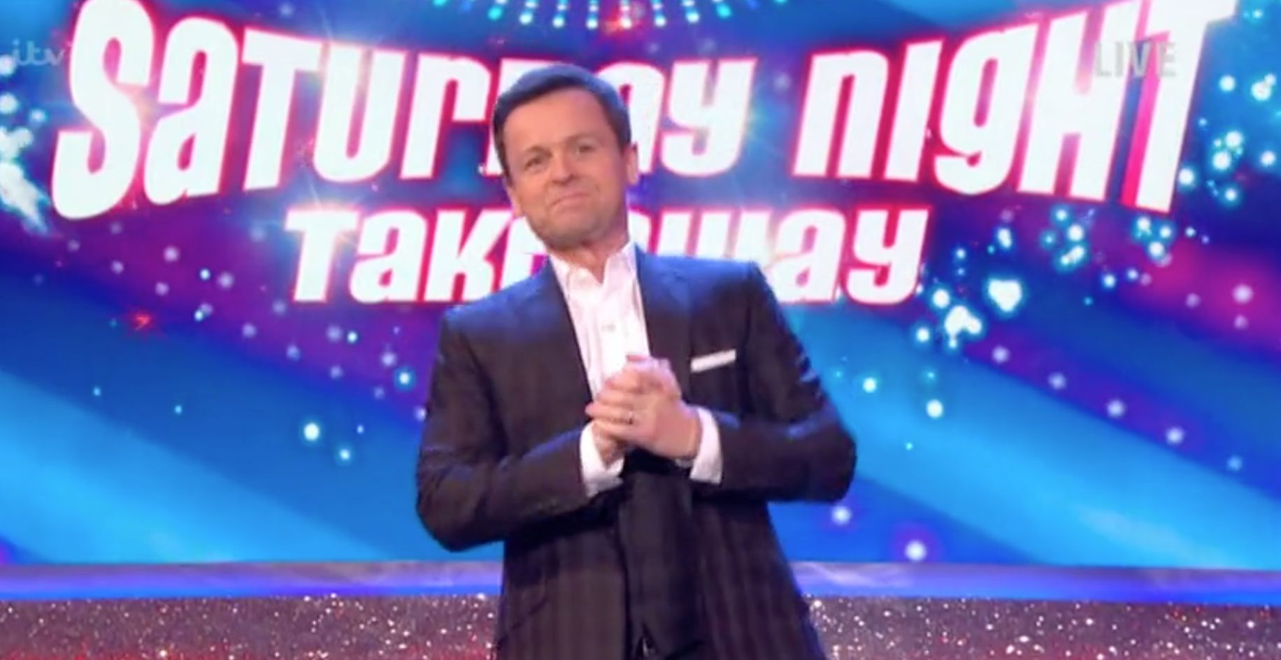 Dec Briefly References Ant's Absence As He Kicks Off His First Solo 'Saturday Night