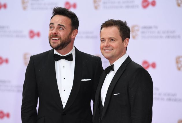 Ant and Dec at the TV Baftas in 2017