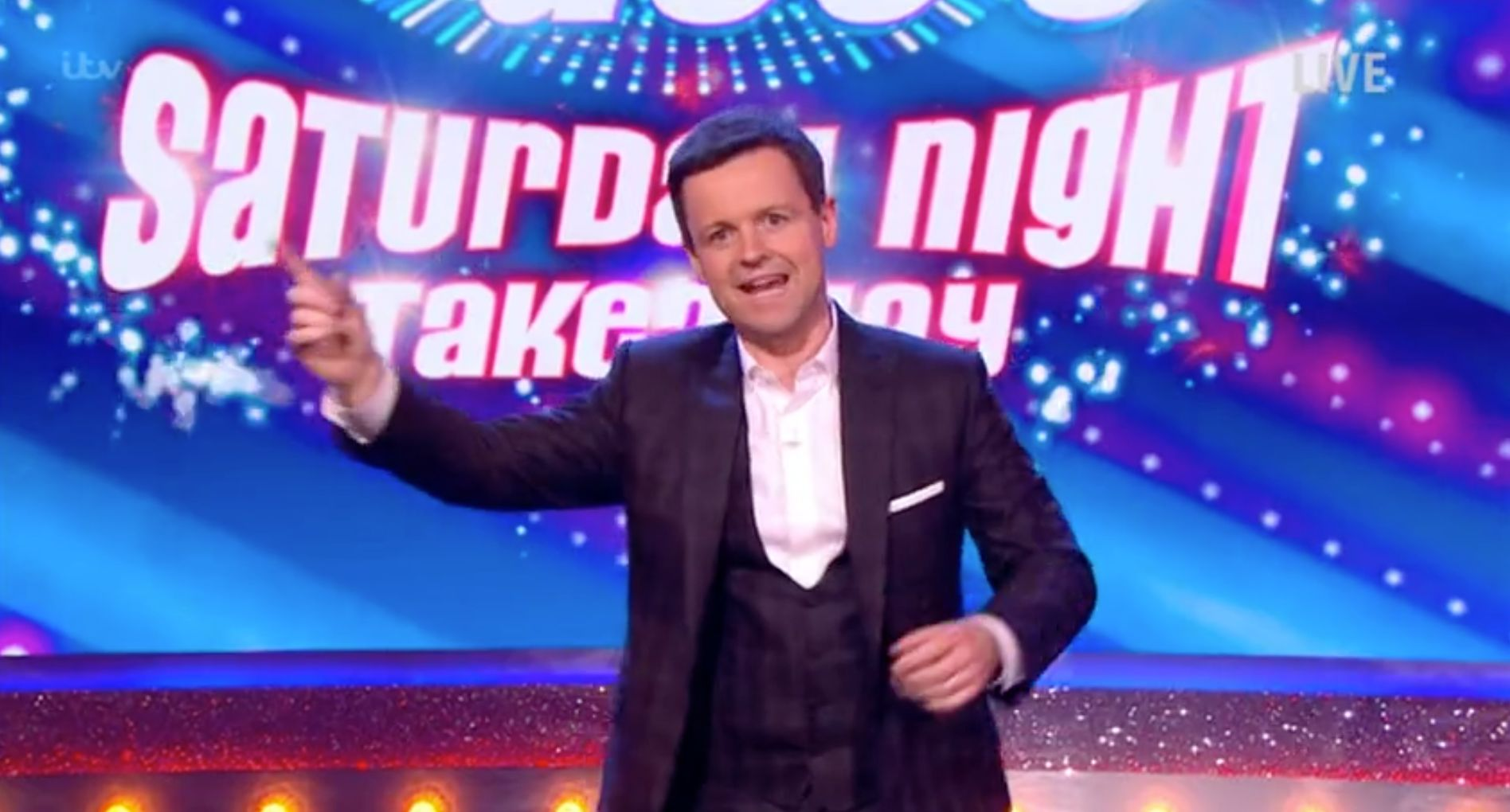 Declan Donnelly hosted 'Saturday Night Takeaway' by himself last