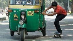 Cette skateboardeuse indienne encourage les filles à briser les