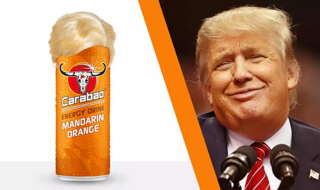 Carabao launched a drink that it claimed was the same colour as US President Donald