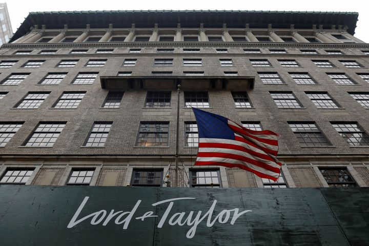 The Lord & Taylor flagship store building is seen along Fifth Avenue in the Manhattan borough of New York City, U.S., Oct