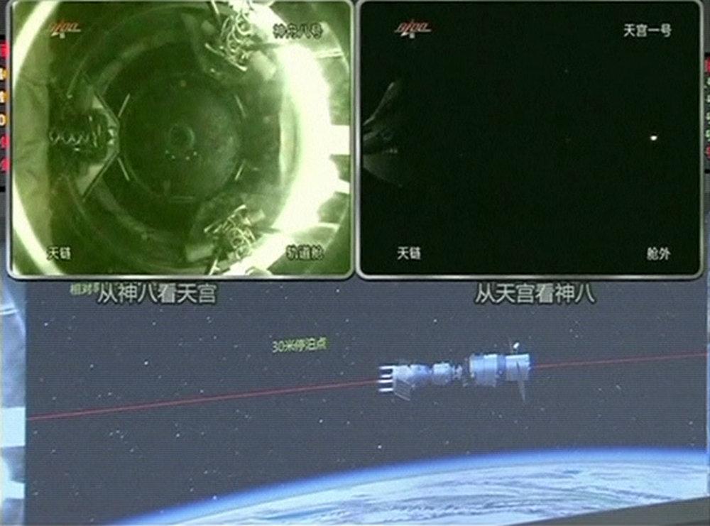 O κινεζικός σταθμός Tiangong-1 κάηκε στην ατμόσφαιρα της
