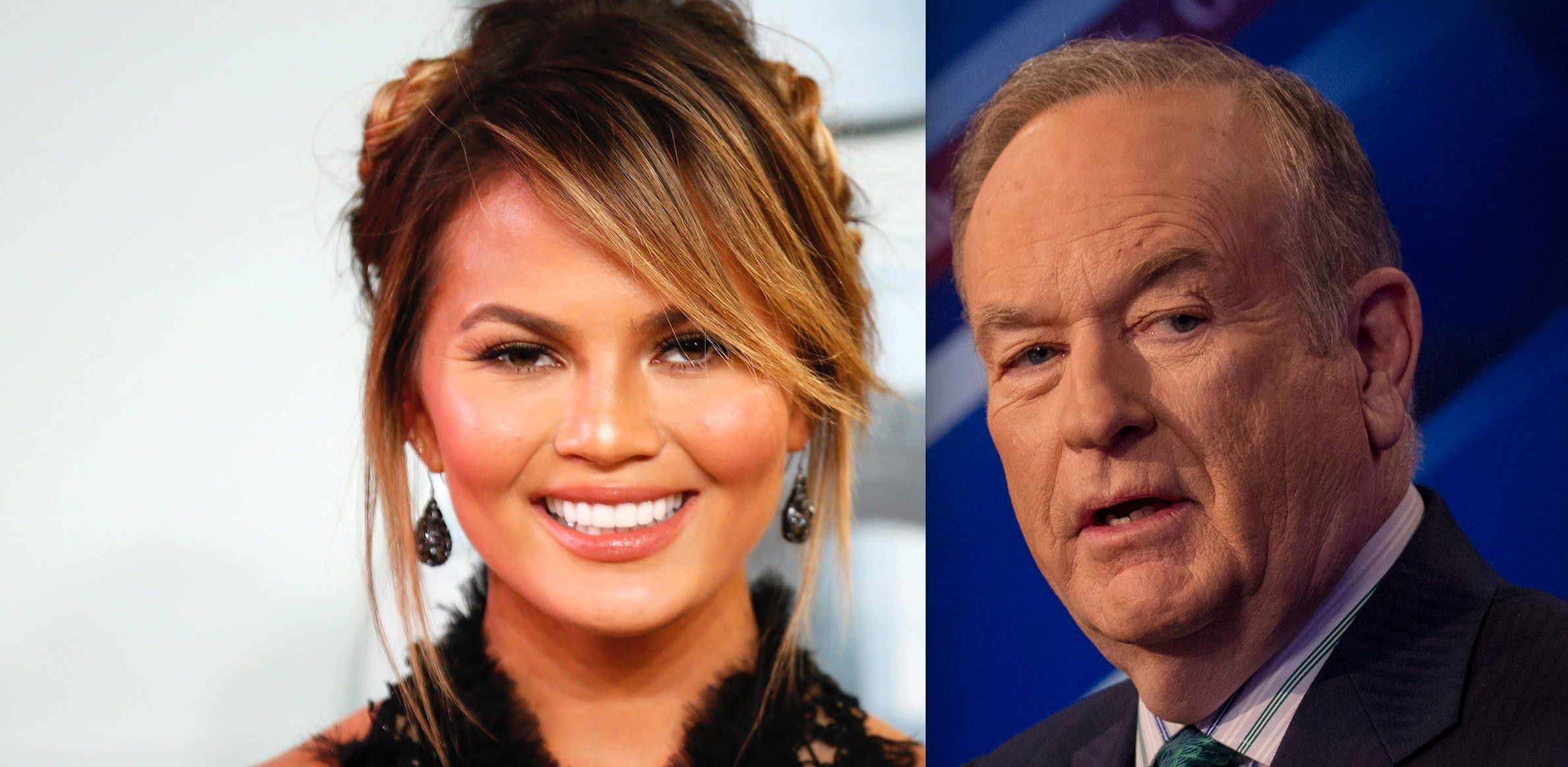 Chrissy Teigen Bill OReilly