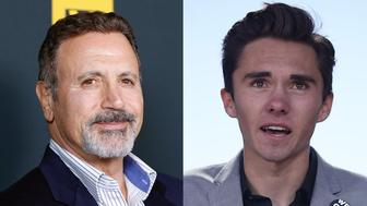 Actor Frank Stallone apologized after berating David Hogg a survivor of theParkland school massacre