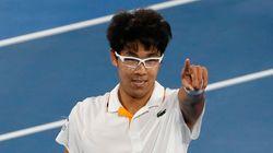 정현이 한국 테니스 선수 최초로 달성한