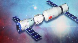 La station spatiale chinoise Tiangong-1 s'est