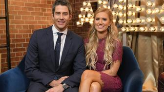 GOOD MORNING AMERICA - Arie Luyendyk Jr. chose Lauren Burnham on the season finale of 'The Bachelor.' The new couple appeared on 'Good Morning America,' Wednesday, March 7, 2018, airing on the ABC Television Network. (ABC/Lorenzo Bevilaqua) ARIE LUYENDYK JR., LAUREN BURNHAM