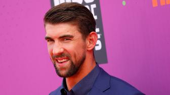 2017 Kids Choice Sport Awards – Arrivals – Los Angeles, California, U.S., 13/07/2017 - Olympic swimmer Michael Phelps. REUTERS/Patrick T. Fallon